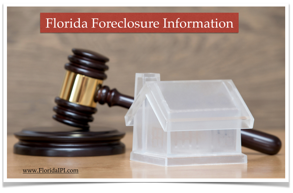 Florida foreclosures short sales information deficiency judgments